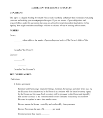 lodger agreement sample template word u0026 pdf