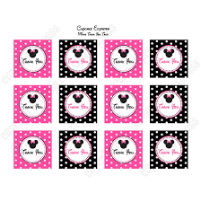 minnie mouse thank you cards minnie mouse printable thank you tags pink