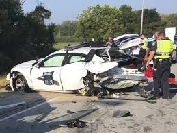 indiana state police trooper seriously hurt in i 865 crash