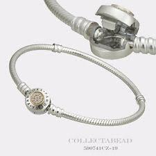 pandora gold bracelet ebay