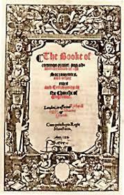 prayer book in book of common prayer