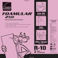owens corning foamular 250 2 in x 48 in x 8 ft r 10 scored