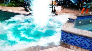 world u0027s largest dry ice explosion in pool youtube