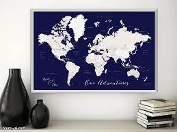 Printable World Map Custom Printable Wedding Invitation And Rsvp Card Sky Nebula