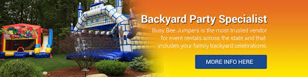 party rentals boston bounce house party rentals busybeejumpers boston ma