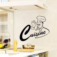 stickers pour cuisine créative dessin animé stickers muraux pour cuisine décoration à la