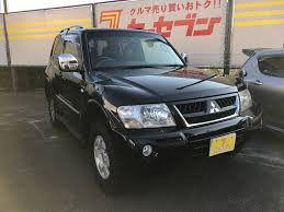 mitsubishi pajero japan mitsubishi pajero mitsubishi pajero 2004 for sale japanese used cars car tana com