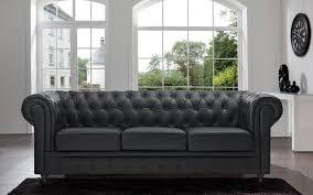Chesterfield Sofa History Dark Grey Leather Chesterfield Sofa Sofa Nrtradiant