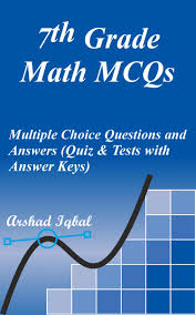 7th grade math mcqs multiple choice questions and answers quiz