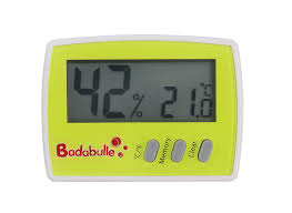 thermometre chambre b badabulle sécurité domestique thermomètre hygromètre amazon fr