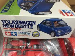 volkswagen tamiya tamiya 24252 124 new beetle motorized