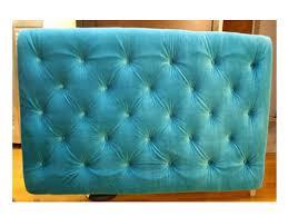 diy diamond tufted upholstered headboard in velvet mira mira on