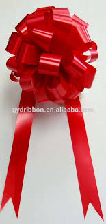 big bow for car present showroom decorate ribbon bow wedding car decorate ribbon bow