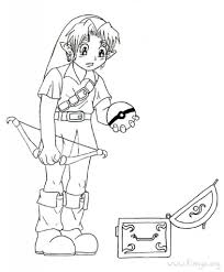 the legend of zelda coloring pages regarding property cool