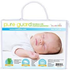 Best Crib Mattress Pad Reviews Waterproof Crib Mattress Cover Ultra Soft Dryer