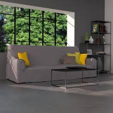 housse de canapé pas cher gris housse canapé en coton gris housse de canapé et de fauteuil la