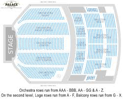 Pepsi Center Seating Map Seating Charts Palace Theatre Albany