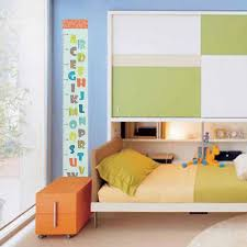 toise chambre b amovible alphabet toise mesure wall sticker decal pour enfants