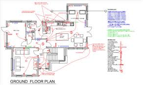 self build floor plans house electrical layout plan dwg home deco plans
