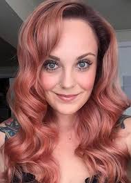 coloured hair for 2015 grand 65 rose gold hair color ideas for 2017 rose gold hair tips