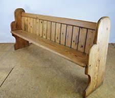 church pew antiques ebay