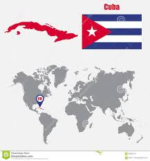 Cuba On The World Map by Vector Map Of Cuba Royalty Free Stock Photography Image 8032477