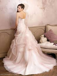 romantic blush pink ball gown wedding dress with beading perfect
