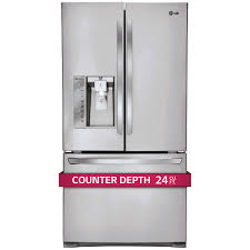 Samsung Counter Depth Refrigerator Side By Side by Lg 24cuft 3 Door French Door Ultra Capacity Counter Depth