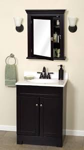 Contemporary Bathrooms Home Decor Espresso Medicine Cabinet With Mirror Bathroom Sinks