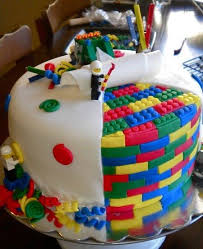 big fat slice ireland lego birthday cake