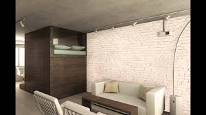 loft brick wall mural video youtube