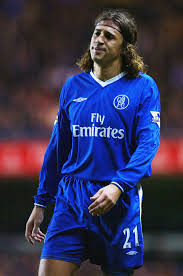 Galhsschelsea Hernan Crespo Chelsea English Football Memories 00s
