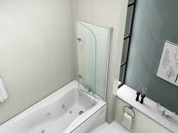 perfect folding shower doors on bathroom with dreamline showers