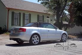 2005 audi s4 2005 audi s4 convertible significant cars inc