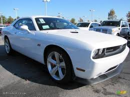 Dodge Challenger 2012 - bright white 2012 dodge challenger srt8 392 exterior photo