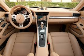 porsche 911 inside two seats in the 911 times