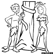 coloring pages adam and eve adam and eve coloring page free adam and eve onl