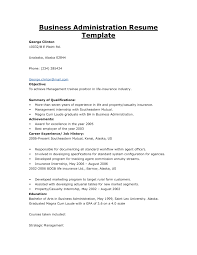 Business Resume Examples Samples Resume Samples For Business