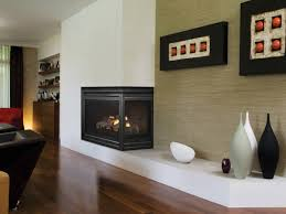 home design gas fireplace contemporary closed hearth double