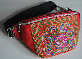 hip sack pack small bag ornamental bag by saadzopouch