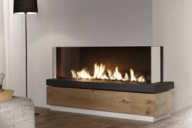 Dual Gas And Wood Burning Fireplace by Modern Gas Fireplaces Clean And Contemporary Design
