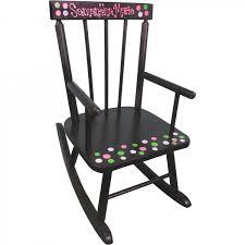 Toddler Rocking Chairs Childrens Wooden Rocking Chair Espresso