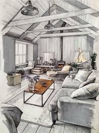 Bedroom Interior Design Sketches Download Interior Design Drawing Bestcameronhighlandsapartment Com