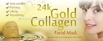 Collagen Mask collagen gold mask anti aging moisturizing reduce