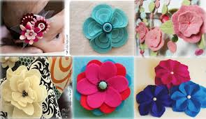 felt flowers lots and lots of felt flowers thelifeoflulubelle