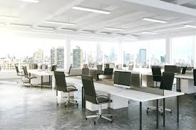 open plan office productivity research layout examples definition