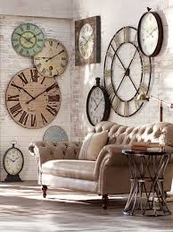elegant decorative wall clocks for living room and best 25 wall