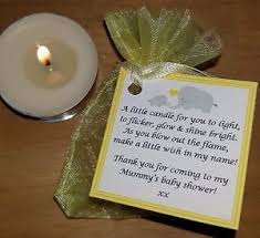 baby shower candles baby shower favours vanilla candles can be personalised thank
