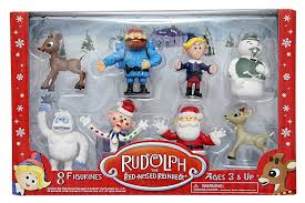 rudolph red nosed reindeer toys ebay