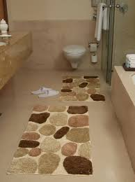 Bathroom Rugs Ideas Amusing Pebble Bath Rug Pictures Ideas Tikspor